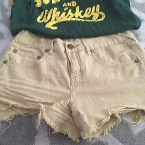 Free people destroyed shorts